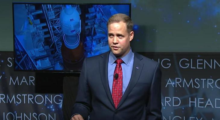 Jim Bridenstine NASA New Chief Administrator Speaks On Climate Change